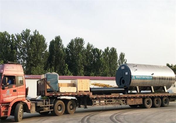 6吨燃气尊龙客服发往山东