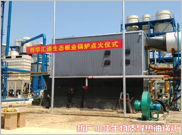 河南西华10吨生物质导热油尊龙官网使用访问zd207