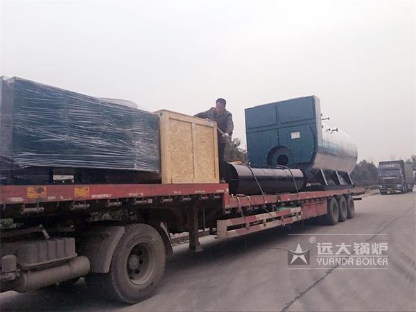 8吨燃气冷凝尊龙官网使用访问zd207发往河北霸州