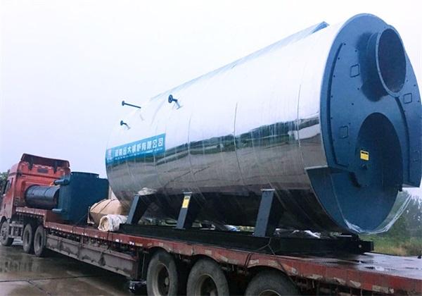 8吨燃气尊龙客服发往周口