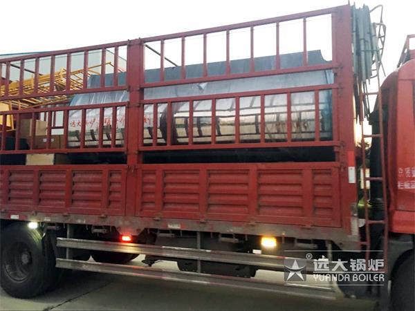 4吨燃气尊龙客服发往山东松鹤化工