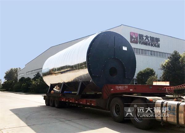 20吨燃气热水尊龙官网使用访问zd207发往陕西西安