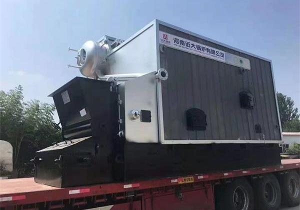 4吨生物质尊龙官网使用访问zd207发往河南信阳