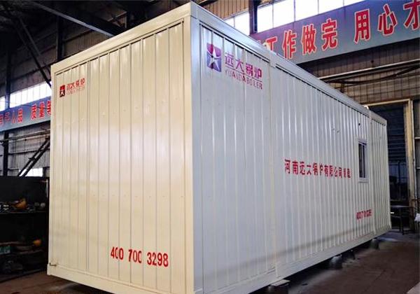2吨集装箱式燃气尊龙官网使用访问zd207发往黑龙江大庆