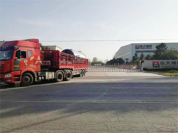 河南项城市4.2MW(6吨)燃气热水尊龙官网使用访问zd207发货