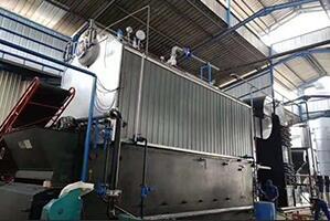 印尼食品厂10吨生物质尊龙客服