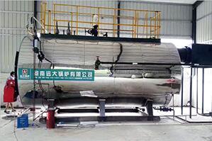 山东食品厂润品源食品6吨燃气尊龙官网使用访问zd207