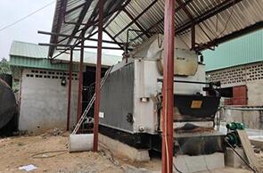 尼日利亚埃努古4吨燃煤尊龙客服