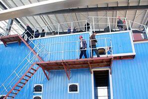 河南某热力公司40吨燃煤热水尊龙官网使用访问zd207供暖项目