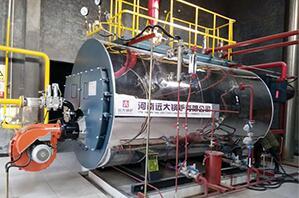郑州胖哥食品厂4吨燃气尊龙官网使用访问zd207
