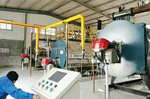 河南食品厂星河油脂4吨燃气导热油尊龙官网使用访问zd207