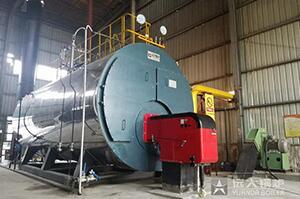 湖北建材厂三和管桩15吨燃气尊龙客服