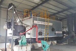 科特迪瓦建材厂8吨生物质尊龙客服