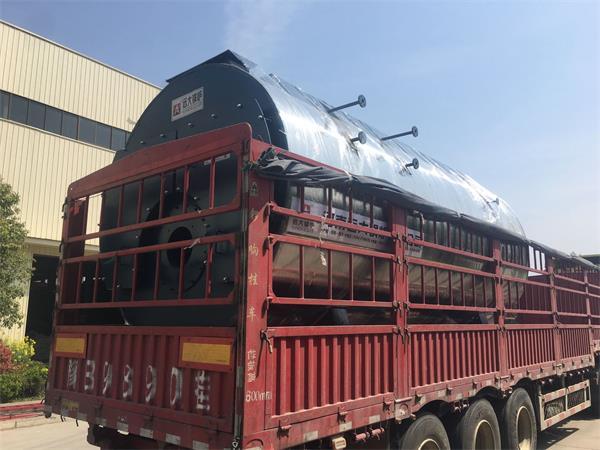 6吨一体冷凝式燃气尊龙客服发往广西贺州