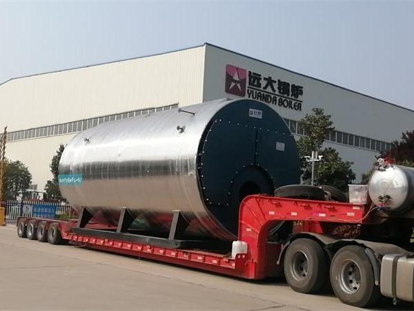 20吨燃气尊龙客服发往广东肇庆