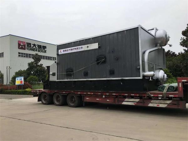 6吨生物质链条炉发往新疆伊犁