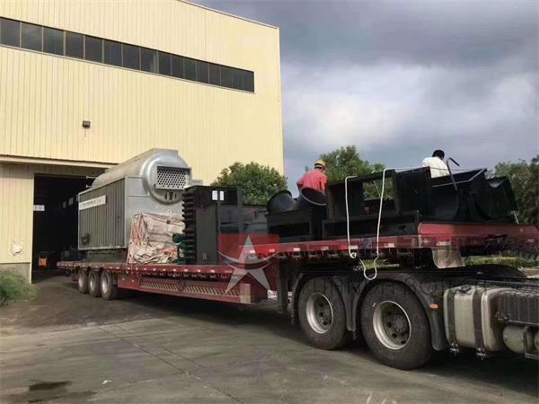 6吨生物质常压热水尊龙官网使用访问zd207发往新疆