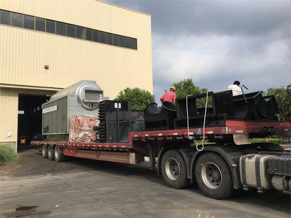 DZL4吨生物质尊龙客服发往湖北咸宁