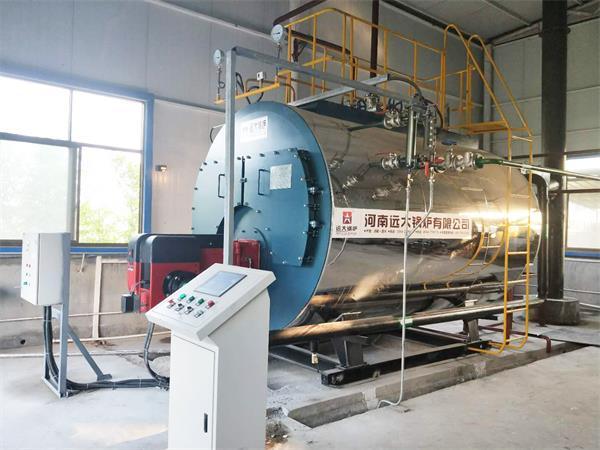 河南药厂博凯医药2吨超低氮燃气尊龙官网使用访问zd207