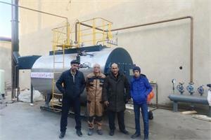 乌兹别克斯坦缝纫线生产厂WNS2-1.25-YQ项目