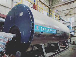 陕西某物业公司供暖用20吨燃气热水尊龙官网使用访问zd207