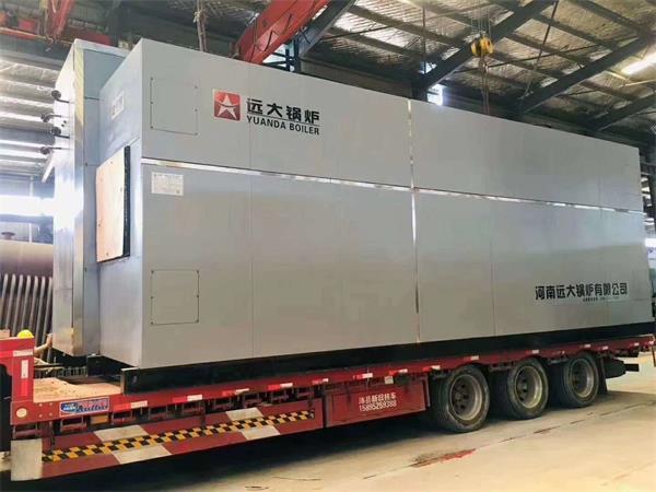 SZS15吨燃气尊龙客服发往河南信阳