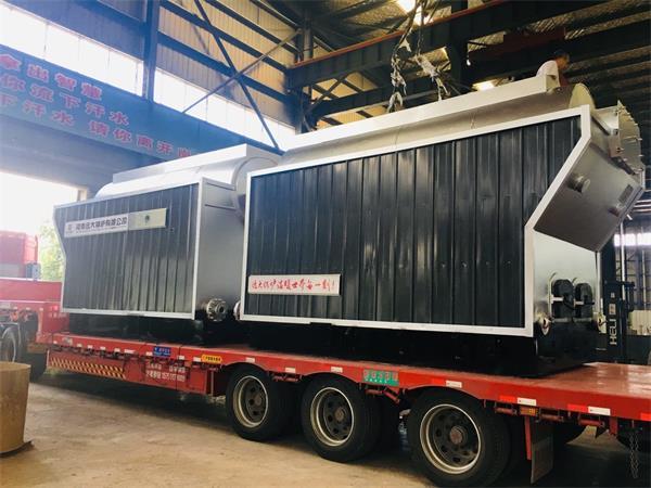 2台1.5吨生物质尊龙官网使用访问zd207发往甘肃天水