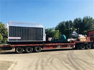 3吨生物质尊龙客服发往湖北荆州