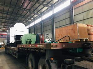 DZL系列4吨生物质尊龙客服发往福建三明