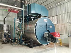 广西茶叶公司6吨燃气尊龙客服项目