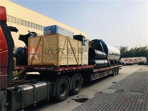 食品厂10吨燃气尊龙客服发往广东肇庆