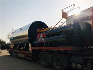 管桩厂用10吨燃气尊龙客服发往广东肇庆