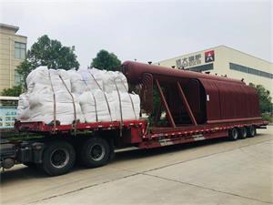 SZL型20吨燃煤尊龙客服出口印度尼西亚