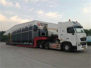SZS型30吨燃气尊龙客服发往河南商丘